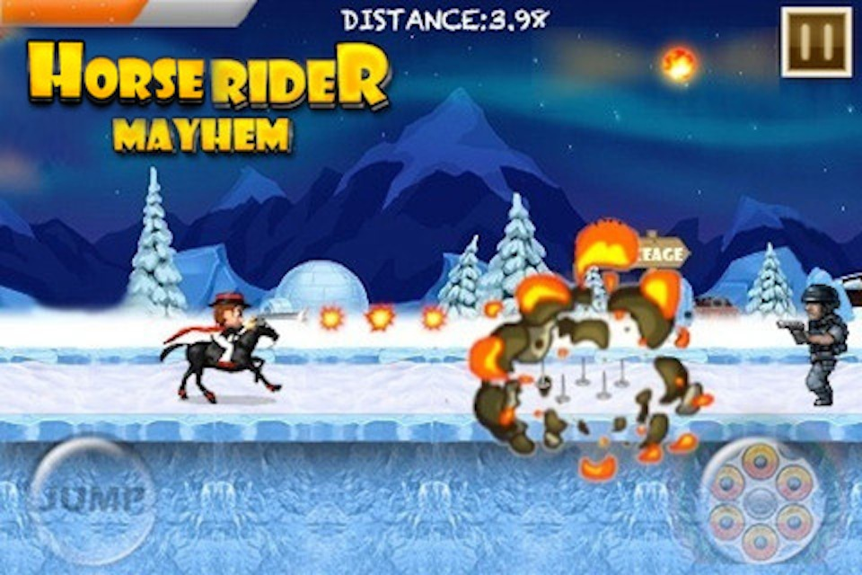 Screenshot Horse Rider Mayhem ( Free racing & shooting games )