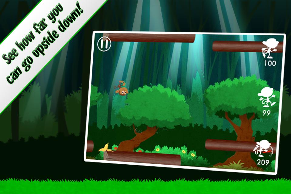 Screenshot Mega Monkey Run: Kico's Running Adventure!